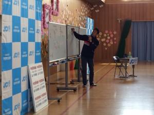 米山先生による「夢」を持つための授業